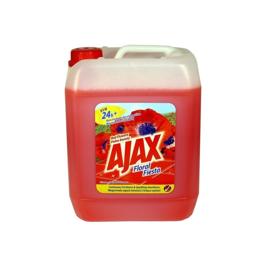 AJAX 5L RED FLOWERS