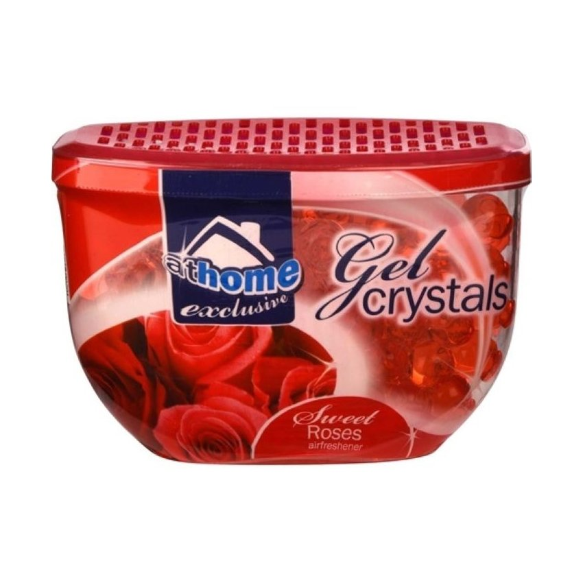AT HOME GEL CRYSTALS 150G ROSE